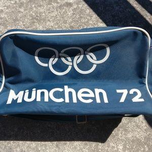 Vintage Adidas München 1972 Summer Olympics Bag